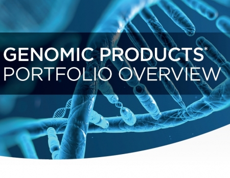 Genomics Products Portfolio Overview Flyer