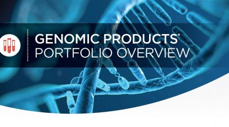Genomics Products Portfolio Overview Flyer