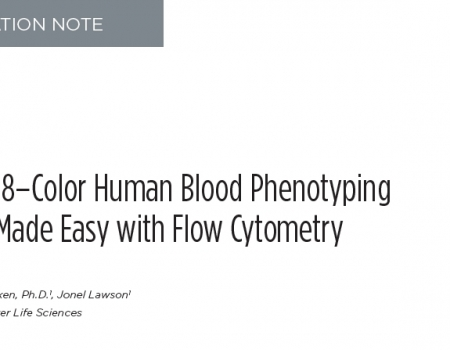 FLOW-4385APP11.18 CytoFLEX Application Note 18–Color Human Blood Phenotyping Final 03.19